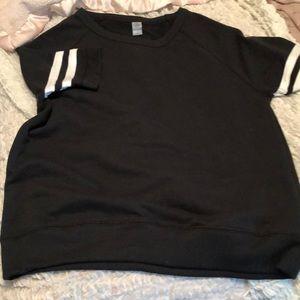 Alternative appearal Short sleeve sweatshirt
